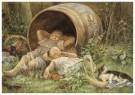 Cornelis Jetses (1873-1955)  -  Uit: Nog bij moeder - Postkaart -  C11627-1