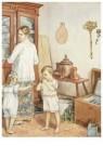 Cornelis Jetses (1873-1955)  -  Uit: Pim en Mien - Postkaart -  C11628-1