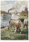 Cornelis Jetses (1873-1955)  -  Uit: Dicht bij huis - Postkaart -  C11634-1