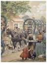Cornelis Jetses (1873-1955)  -  Uit: Buurtkinderen - Postkaart -  C11641-1