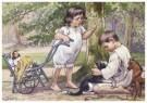 Cornelis Jetses (1873-1955)  -  Uit: Ot en Sien, Voor scholen in Indie - Postkaart -  C11642-1