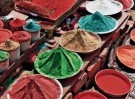 Karin van Oostrom  -  Kleuren van India, Puri - Postkaart -  C11842-1