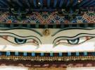 Karin van Oostrom  -  De alziende ogen van Buddha, Tibet - Postkaart -  C11854-1