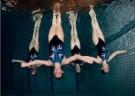 Cor Kuyvenhoven  -  Synchroomzwemmen,2008 - Postkaart -  C11870-1