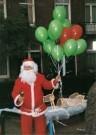 Lana Hogenstijn  -  Luchtige kerst, 2005 - Postkaart -  C11875-1