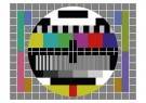 Anoniem  -  Testbeeld TV - Postkaart -  C12041-1