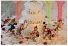 Eduard van Koolwijk  -  Happy birthday, 2010 - Postkaart -  C12053-1