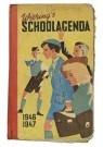 -  Wiering's schoolagenda schooljaar 1946/1947 - Postkaart -  C12368-1