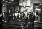 Anoniem,  -  Leraren van een Rotterdamse school, circa 1935 - Postkaart -  C12374-1