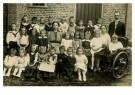 Anoniem,  -  Klassenfoto, circa 1910 - Postkaart -  C12380-1