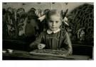 Anoniem,  -  Leren lezen met het leesplankje, cica 1950 - Postkaart -  C12381-1
