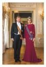 -  Zijne Majesteit Koning Willem-Alexander en Hare - Postkaart -  C12459-1