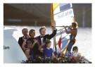 -  Koningspaar maakt vaartocht op IJ - Postkaart -  C12464-1
