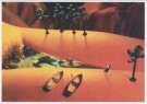 Michel Moers (1947)  -  Japanese Gardens: 'Hello! (Et l'eau)' - Postkaart -  C1825-1