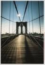 Martin Kers (1944)  -  Kers/ Brooklyn Bridge - Postkaart -  C2724-1