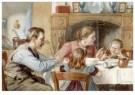Cornelis Jetses (1873-1955)  -  Uit: Nog bij moeder - Postkaart -  C3398-1