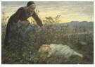 Cornelis Jetses (1873-1955)  -  Uit: Nog bij moeder - Postkaart -  C3402-1