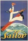 Jan Lavies (1902-2005)  -  Matroos, vulpenhouders, affiche 1931 - Postkaart -  C3571-1