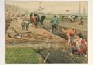 Cornelis Jetses (1873-1955)  -  Het volle leven: 'Lente op den akker' - Postkaart -  C3657-1