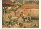 Cornelis Jetses (1873-1955)  -  Het volle leven: 'De laatste hooivracht' - Postkaart -  C3658-1
