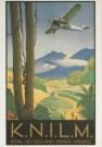 Jan Lavies (1902-2005)  -  Vliegtuig boven Sa. - Postkaart -  C3735-1