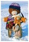 Piet van der Meer  -  Sjakie met vr. - Postkaart -  C3836-1