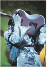 Elliott Landy (1942)  -  Jimi Hendrix, Fillmore East, NYC, 1968 - Postkaart -  C4463-1