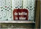 Ronald Hammega (1948) - De koffie is klaar - Postkaart - C4634-1