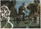 Aldous Eveleigh (1951)  -  A.Eveleigh/Funny Cyclist. - Postkaart -  C4945-1