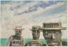 Aldous Eveleigh (1951)  -  A.Eveleigh/Anxious Boatman. - Postkaart -  C4948-1