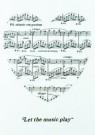Letizia Volpi  -  Let the music play - Postkaart -  C5013-1