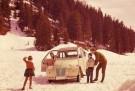 Citroen  -  Citroën/Dans la neige - Postkaart -  C5181-1