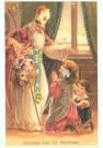-  Biddend meisje - Postkaart -  C6125-1