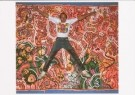 Keith Haring (1858-1990)  -  Keith Haring, in the Stedelijk Museum, Amsterdam, - Postkaart -  C6291-1