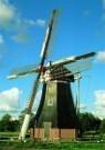 Hendrik-Willem Nieuwenhuis  -  Poldermolen - Postkaart -  C6650-1