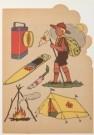 Jan Lavies (1902-2005)  -  Omslag kleurboek, 1945-50 - Postkaart -  C6923-1