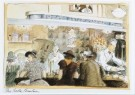 Edward Sorel (1929)  -  De Soda-fontein - Postkaart -  C7005-1