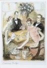 Edward Sorel (1929)  -  E.Sorel/The Bridge Game - Postkaart -  C7011-1