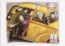 Edward Sorel (1929)  -  Taxitekort in oorlogstijd - Postkaart -  C7014-1