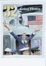 Edward Sorel (1929)  -  E.Sorel/U.S. Postage stamp - Postkaart -  C7017-1