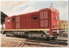Charles Burki (1909-1994)  -  C.Burki/Locomotief 2400 - Postkaart -  C7141-1