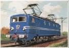 Charles Burki (1909-1994)  -  C.Burki/Electr. locomotief - Postkaart -  C7142-1