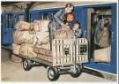 Charles Burki (1909-1994)  -  C.Burki/Postvervoer. - Postkaart -  C7153-1