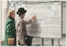 Charles Burki (1909-1994)  -  Dienstregelingbord - Postkaart -  C7156-1