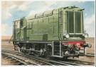 Charles Burki (1909-1994)  -  C.Burki/D.E. locomotief. - Postkaart -  C7160-1