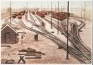 Charles Burki (1909-1994)  -  C.Burki/Verdeelsporen. - Postkaart -  C7162-1