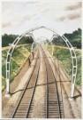 Charles Burki (1909-1994)  -  C.Burki/Gebogen portalen. - Postkaart -  C7163-1