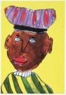 Mara Lynn Aronson  -  Zwarte Piet - Postkaart -  C7277-1