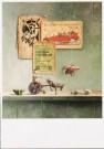 Piet Gutter (1944)  -  De koppige ezel - Postkaart -  C7516-1