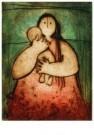 Gerda Smit  -  Moeder en Kind - Postkaart -  C7579-1